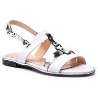 Sandały BALDACCINI - 1097500 Białe Lico/Lustro Srebro, kolor wielokolorowy