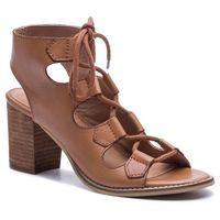 Sandały QUAZI - QZ-22-02-000198 106, kolor brązowy