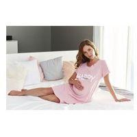 Dn - doctor nap Koszula nocna ciążowa i do karmienia happy mommy - sweet pink