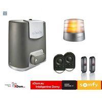 Somfy Elixo 500 230v comfort+ pack (2 piloty 4-kanałowe keygo, lampa master pro, fotokomórki)