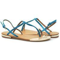 Sandały e03-3wsan-413 niebieskie marki Evento