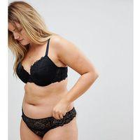 Asos design curve rita lace mix & match thong - black, Asos curve