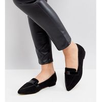 Asos lucy wide fit pointed ballet flats - multi marki Asos design