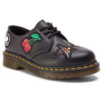 Półbuty - 1461 patch 24435001 black, Dr. martens