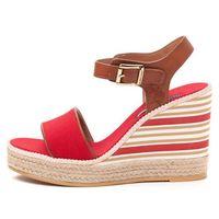 U.S. POLO ASSN. sandały damskie Nymphea 36 czerwony, kolor czerwony