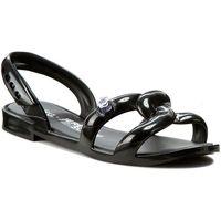 Sandały MELISSA - Tube Sandal+Jeremy S 31844 Black 01003, w 3 rozmiarach