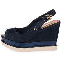 Wrangler sandały damskie Clipper Kelly Chan 38 ciemnoniebieskie, kolor niebieski