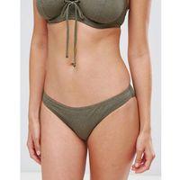 Pour Moi Textured Bikini Bottom - Green