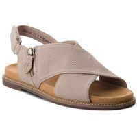 Sandały CLARKS - Carsio Calm 261339264 Sand Leather, w 5 rozmiarach