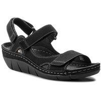 Sandały BERKEMANN - Teri 01320 Schwarz 950, kolor czarny