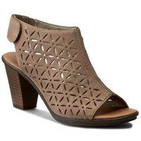 Sandały RIEKER - 64196-64 Beige, kolor brązowy