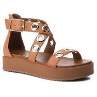 Sandały INUOVO - 8728 Coconut, kolor brązowy