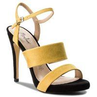 Sandały MENBUR - 09298 Yellow 0014, kolor żółty