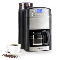 Klarstein Aromatica ekspres do kawy młynek 10 filiżanek szklany dzbanek