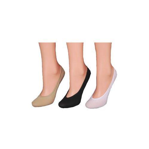 Baletki RiSocks bawełniane art.5691412 36-41, biały, RiSocks, kolor biały