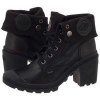 Botki Palladium Baggy Heel Leather 93451068 (PA30-a), 1 rozmiar