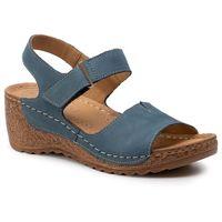 Sandały LASOCKI - RST-2091-01 Blue, kolor niebieski