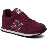 Sneakersy - gw500pss bordowy, New balance, 35-41.5