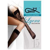 lycra 15 den beżowy podkolanówki, Gatta