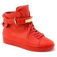 Botki sneakersy 7183-010 czerwony marki Elegance