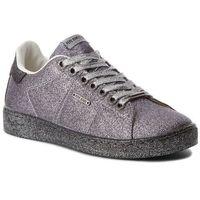 Sneakersy PEPE JEANS - Brompton Part PLS30666 Silver 934