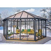 Palram Sześciokątny poliwęglanowy ogród zimowy garda (7290108137040)