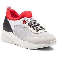 Sneakersy LIU JO - Karlie 13 B19003 TX030 Off White/Silve S19C2, kolor wielokolorowy