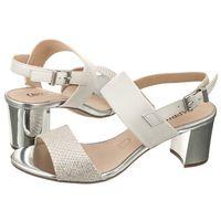 Sandały Caprice Białe 9-28302-20 114 Offwhite Multi (CP106-a), kolor biały