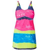 Sukienka kąpielowa kolorowy batikowy marki Bonprix