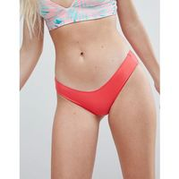 Rip Curl Classic Surf Mix And Match Cheeky Bikini Pant - Red, kolor czerwony