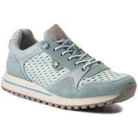 Sneakersy - beyond punched wl181556 lt. blue 12 marki Wrangler