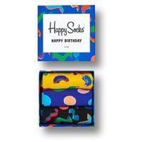 - skarpetki gift box urodzinowy (3-pak), Happy socks