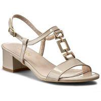 Sandały - 2320 caprii/lakier złoty marki Sagan