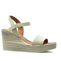 Sandały 2-28347-22 piaskowe zamsz marki Marco tozzi