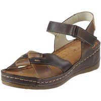 Sandały Wasak 0473 - Brązowe, kolor brązowy