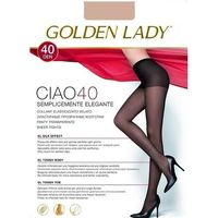 Rajstopy Golden Lady Ciao 40 den ROZMIAR: 5-XL, KOLOR: beżowy/melon, Golden Lady, 8300497393350