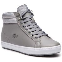 Sneakersy LACOSTE - Straightset Insulatec 3181 Caw 7-36CAW0044H92 Gry/Lt Gry, kolor szary