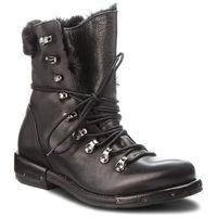 Botki EVA MINGE - Martorel 4E 18AS1372536EF 101, kolor czarny