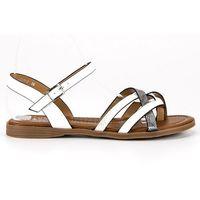 Klasyczne białe sandały, 1 rozmiar
