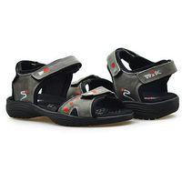 Sandały 07-0126-002 szare marki Nik
