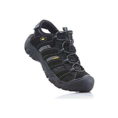 Sandały sportowe brütting czarny marki Bonprix