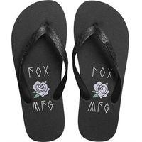 Japonki - rosey flip flop black (001) marki Fox