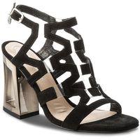 Sandały SOLO FEMME - 60820-11-020/000-07-00 Czarny, kolor czarny