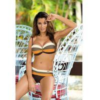 Kostium Kąpielowy Model Taylor Seppia-Avorio Fango-Paperino M-350 Brown/Orange, kolor brązowy