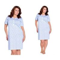 Koszula nocna TERESA: błękit, kolor niebieski