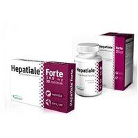 hepatiale forte large breed 550mg preparat wspomagający funkcjonowanie wątroby marki Vetexpert