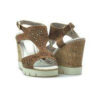 Sandały Marco Tozzi 2-28354-28 Brązowe, kolor brązowy