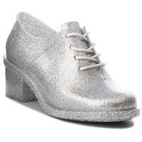 Półbuty - dubrovka ad 32245 glass silver glitter 03895 marki Melissa