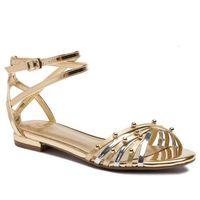 Sandały GUESS - Ramzia FL6RMZ LEL03 SILVE, kolor żółty