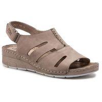 Sandały HELIOS - 257 Beż, w 2 rozmiarach